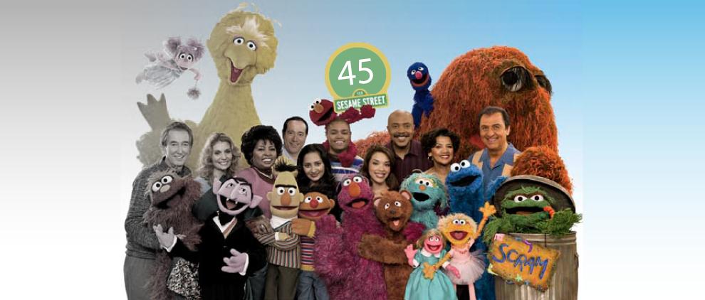A Sesame Street Timeline