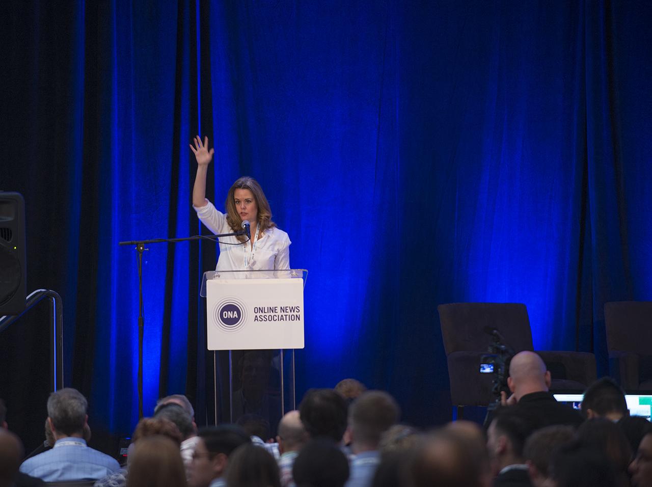 Meredith Artley, president of ONA