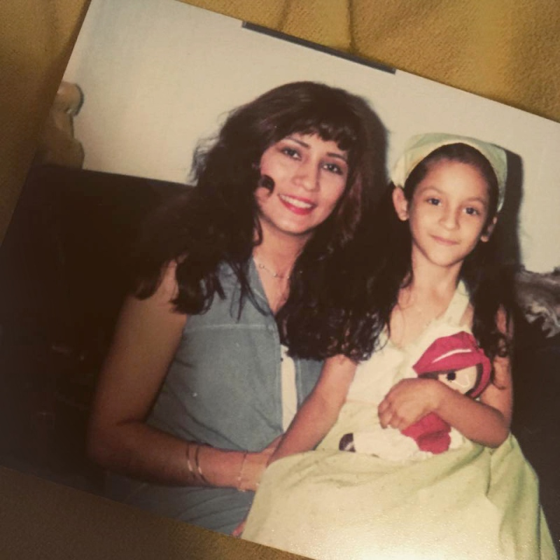 """My beautiful mother and me. I have always been """"mommy's little girl."""" But that doesn't mean my mother wanted me to grow up to be exactly like her."""