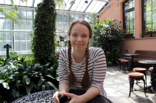 ONA student newsroom journalist Minna Markkanen